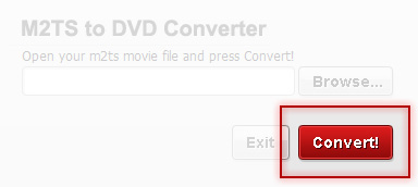Convert your movie with M2TS to DVD Converter