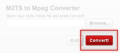 Convert your movie with M2TS to Mpeg Converter